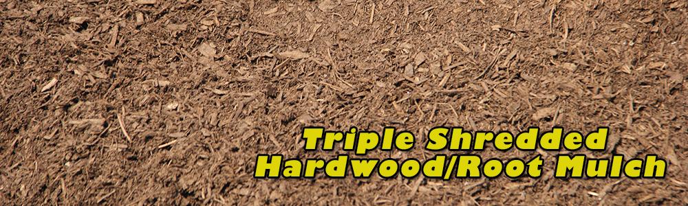 Triple Shredded Mulch