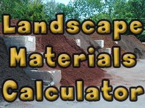 Delivered Landscape material
