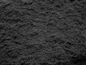 Dark Brown Organic mulch