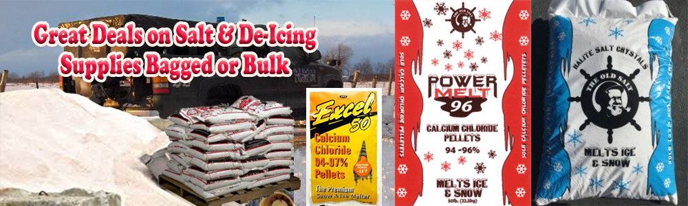 Rock Salt & Ice Melt Supplies