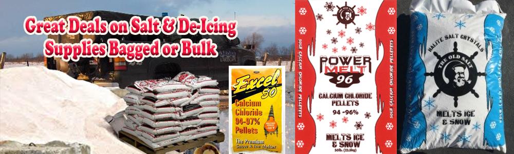 Rock Salt & Ice Melt Supplies